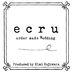ecru -ordermade wedding-